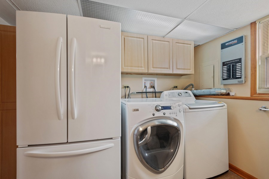 Real Estate Photography - 1N526 Goodrich Avenue, Glen Ellyn, IL, 60137 - Laundry Room