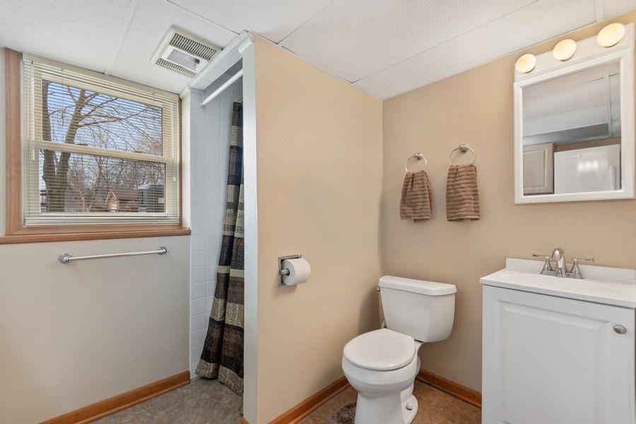 Real Estate Photography - 1N526 Goodrich Avenue, Glen Ellyn, IL, 60137 - Bathroom