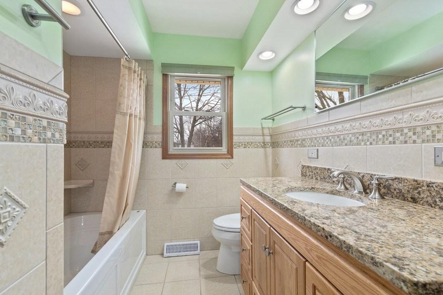Real Estate Photography - 1N526 Goodrich Avenue, Glen Ellyn, IL, 60137 - 2nd Bathroom
