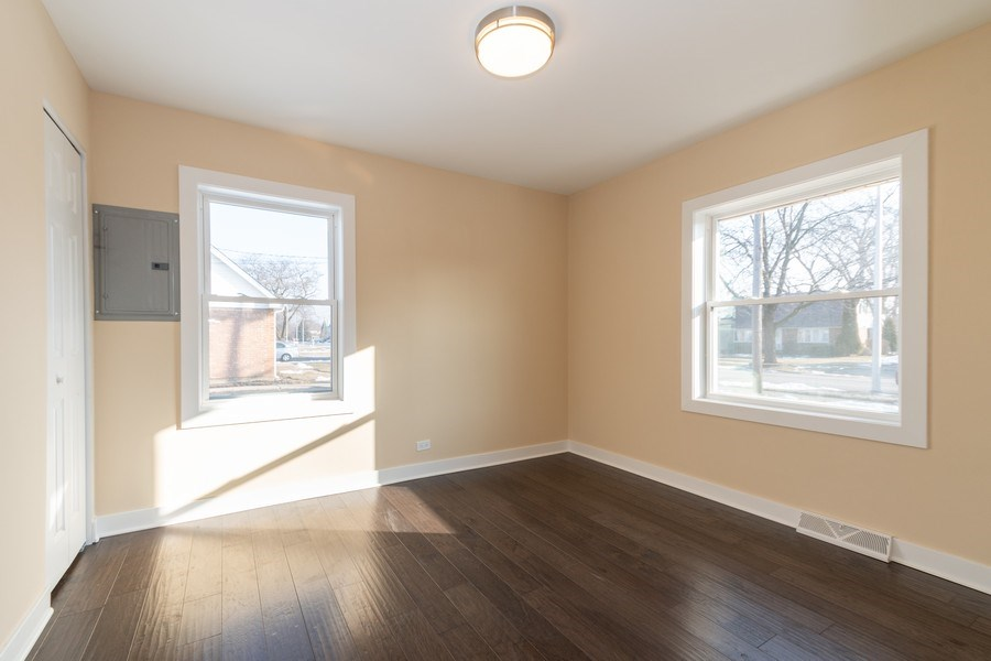 Real Estate Photography - 8208 Rutherford Avenue, Burbank, IL, 60459 - 2nd Bedroom