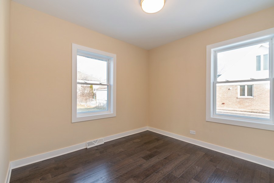 Real Estate Photography - 8208 Rutherford Avenue, Burbank, IL, 60459 - 3rd Bedroom