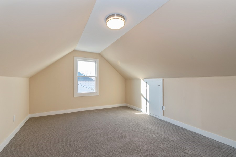 Real Estate Photography - 8208 Rutherford Avenue, Burbank, IL, 60459 - Bedroom