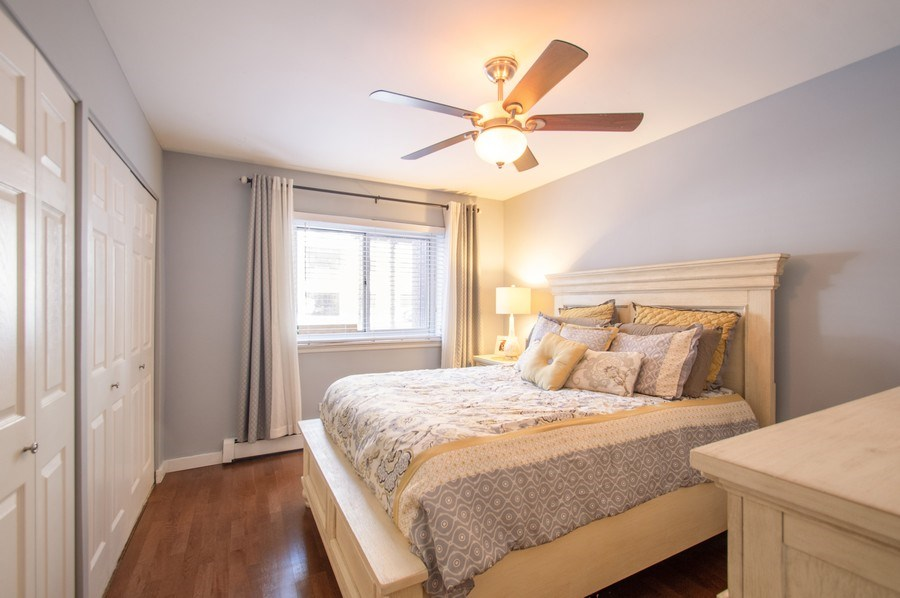 Real Estate Photography - 515 W. Wrightwood Avenue, Unit 105, Chicago, IL, 60614 - Bedroom