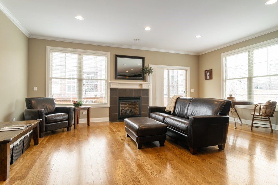 Real Estate Photography - 54 S. Greeley Street, Palatine, IL, 60067 - Family Room