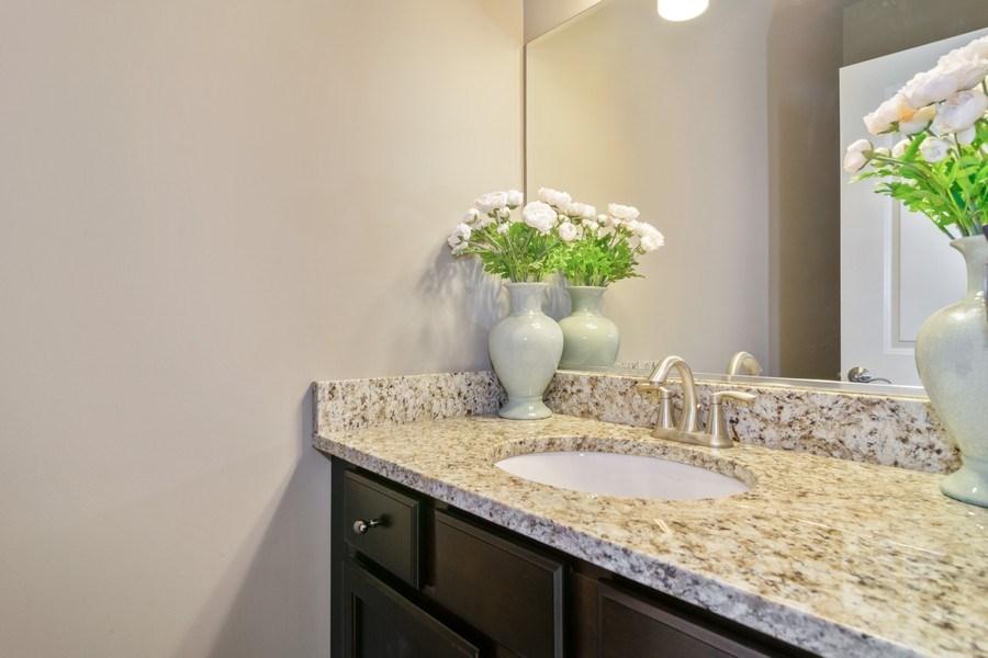 Real Estate Photography - 54 S. Greeley Street, Palatine, IL, 60067 - Half Bath