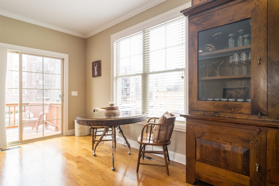 Real Estate Photography - 54 S. Greeley Street, Palatine, IL, 60067 - Breakfast Nook