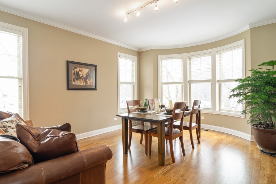 Real Estate Photography - 54 S. Greeley Street, Palatine, IL, 60067 - Living Room / Dining Room