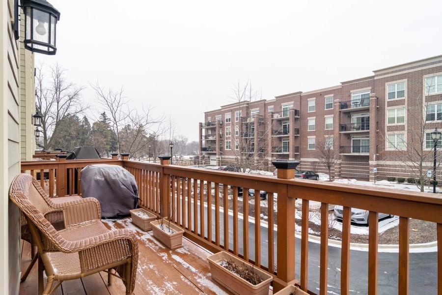Real Estate Photography - 54 S. Greeley Street, Palatine, IL, 60067 - Balcony