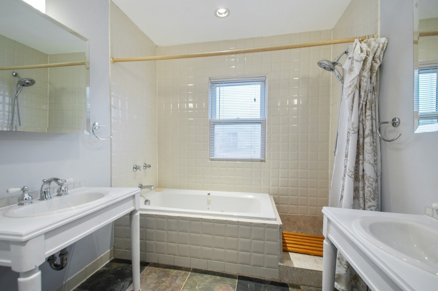 Real Estate Photography - 2347 W. Medill Avenue, Chicago, IL, 60647 - Master Bathroom