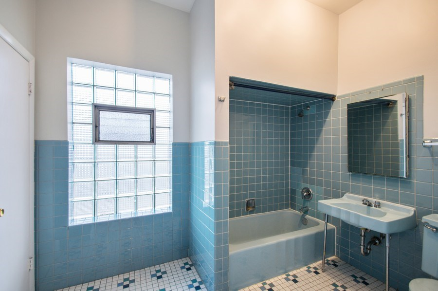 Real Estate Photography - 2347 W. Medill Avenue, Chicago, IL, 60647 - 2nd Bathroom