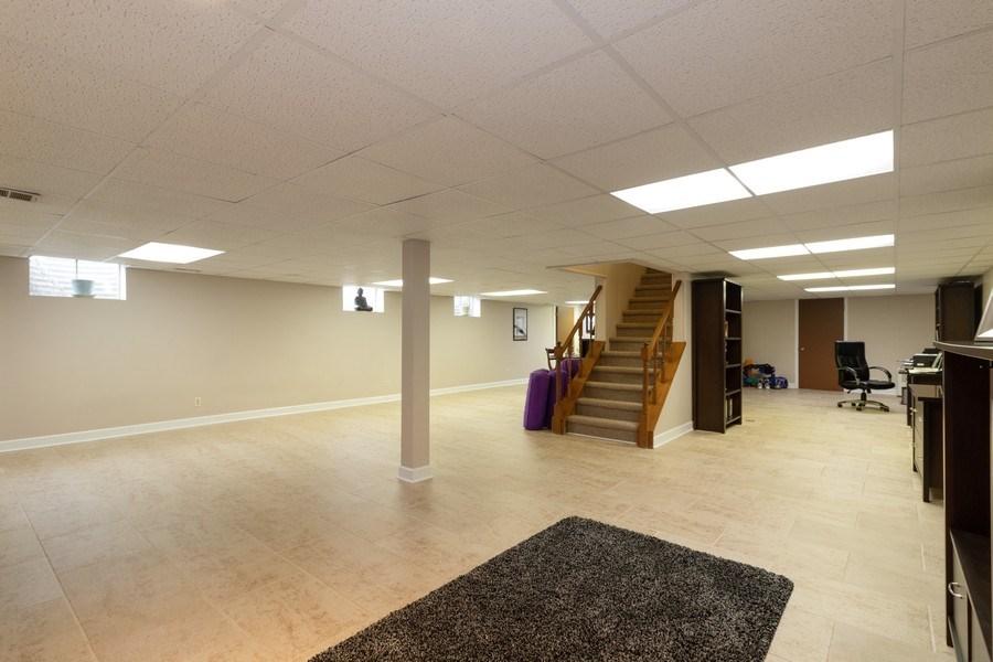Real Estate Photography - 3108 Bonnie Brae, Flossmoor, IL, 60422 - Recreation Room