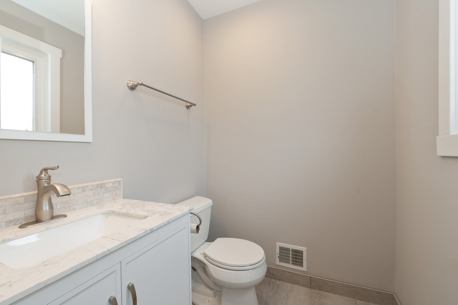 Real Estate Photography - 16420 Roy Street, Oak Forest, IL, 60452 - Half Bath