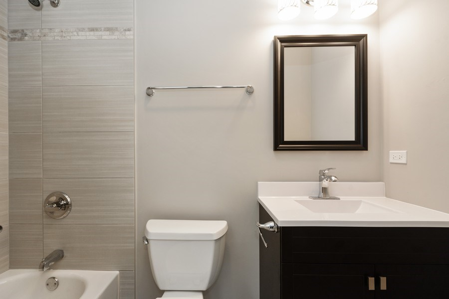 Real Estate Photography - 16420 Roy Street, Oak Forest, IL, 60452 - Bathroom