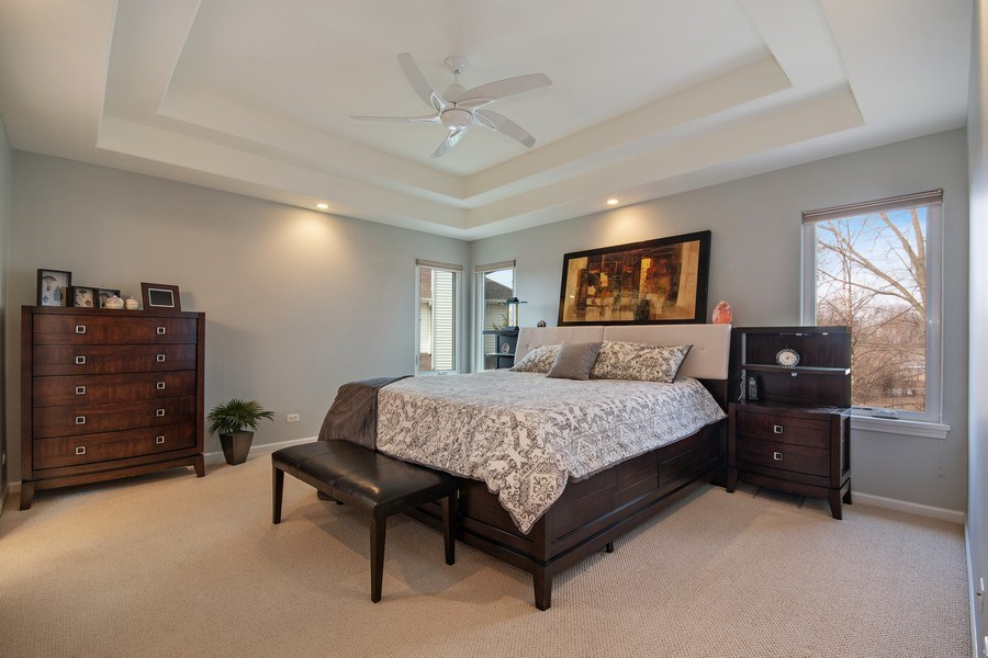Real Estate Photography - 2152 COUNTRY LAKES Drive, Naperville, IL, 60563 - Master Bedroom