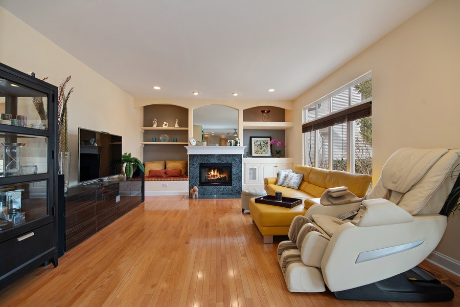 Real Estate Photography - 2152 COUNTRY LAKES Drive, Naperville, IL, 60563 - Family Room