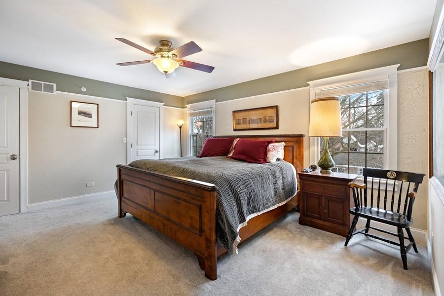 Real Estate Photography - 735 S. Grove Avenue, Barrington, IL, 60010 - Master Bedroom