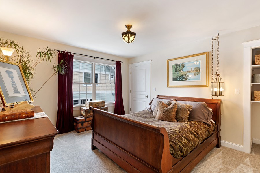 Real Estate Photography - 735 S. Grove Avenue, Barrington, IL, 60010 - 2nd Bedroom