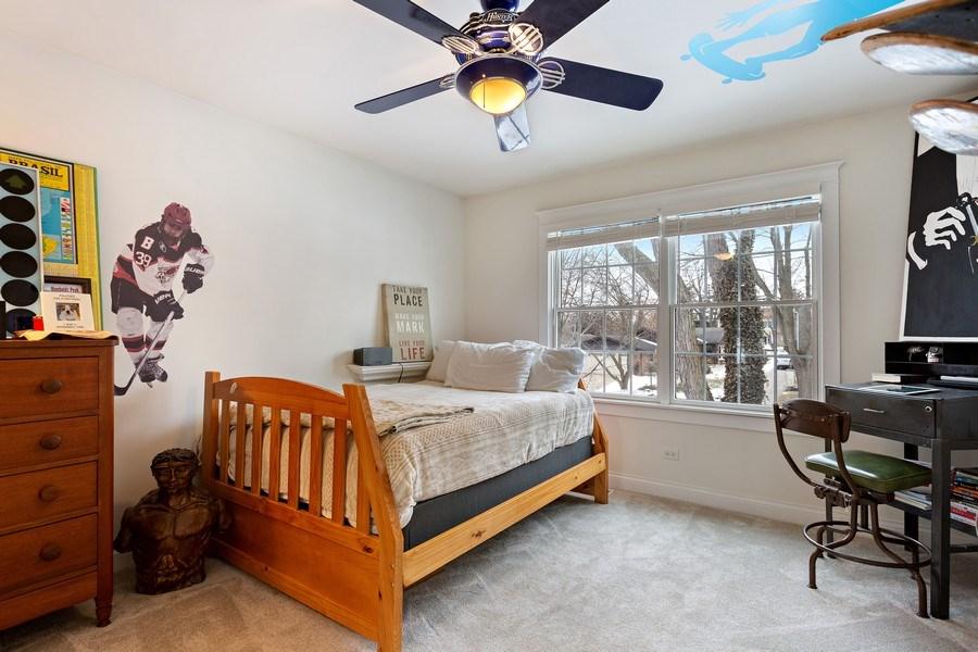 Real Estate Photography - 735 S. Grove Avenue, Barrington, IL, 60010 - 3rd Bedroom