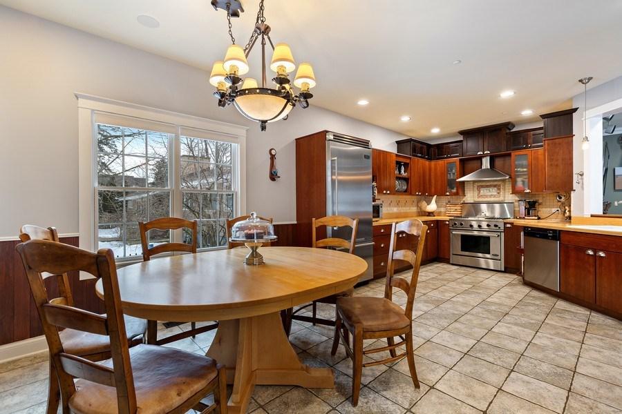 Real Estate Photography - 735 S. Grove Avenue, Barrington, IL, 60010 - Kitchen