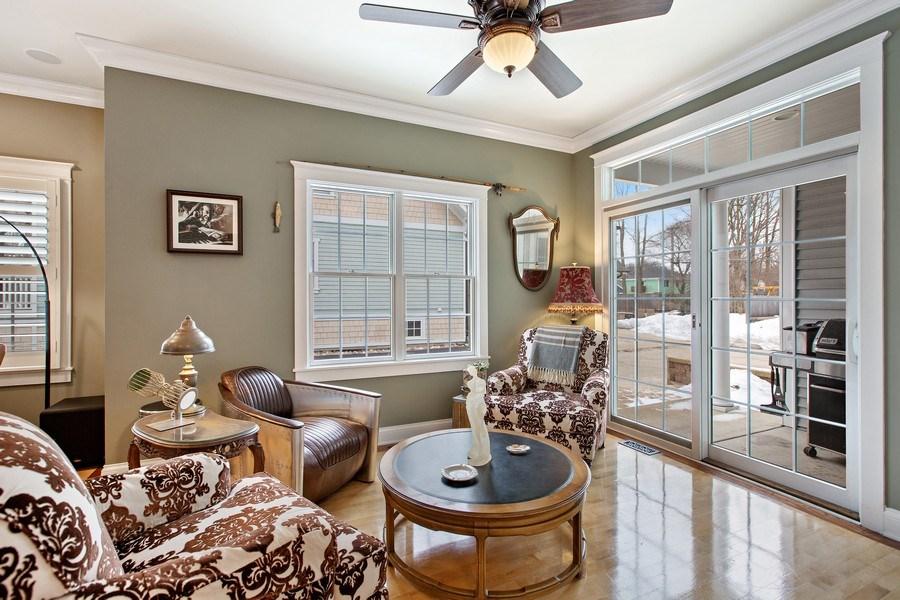 Real Estate Photography - 735 S. Grove Avenue, Barrington, IL, 60010 - Family Room