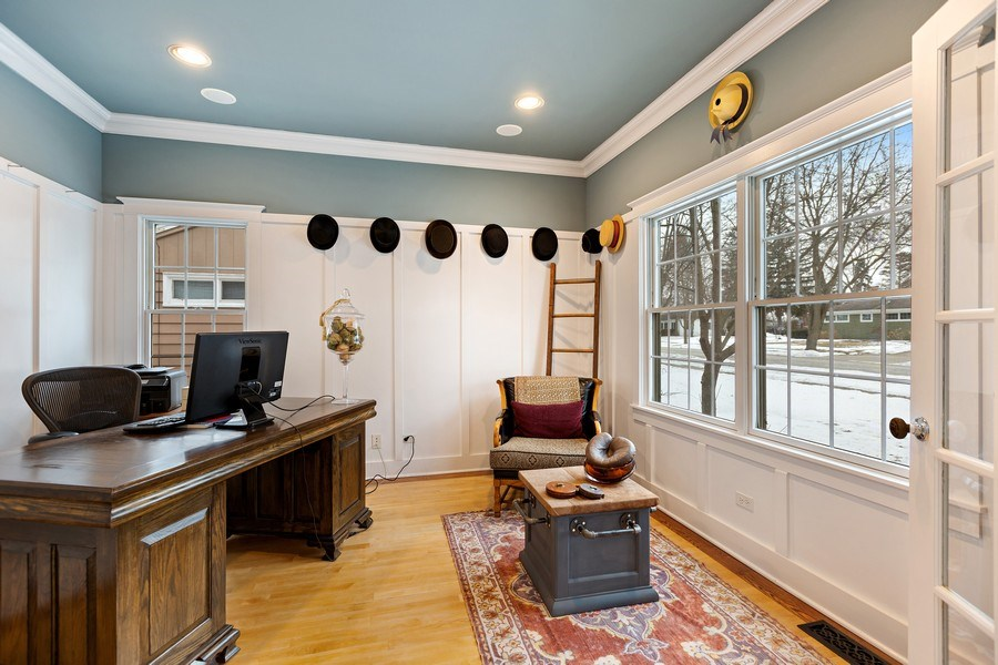 Real Estate Photography - 735 S. Grove Avenue, Barrington, IL, 60010 - 4th Bedroom/Office