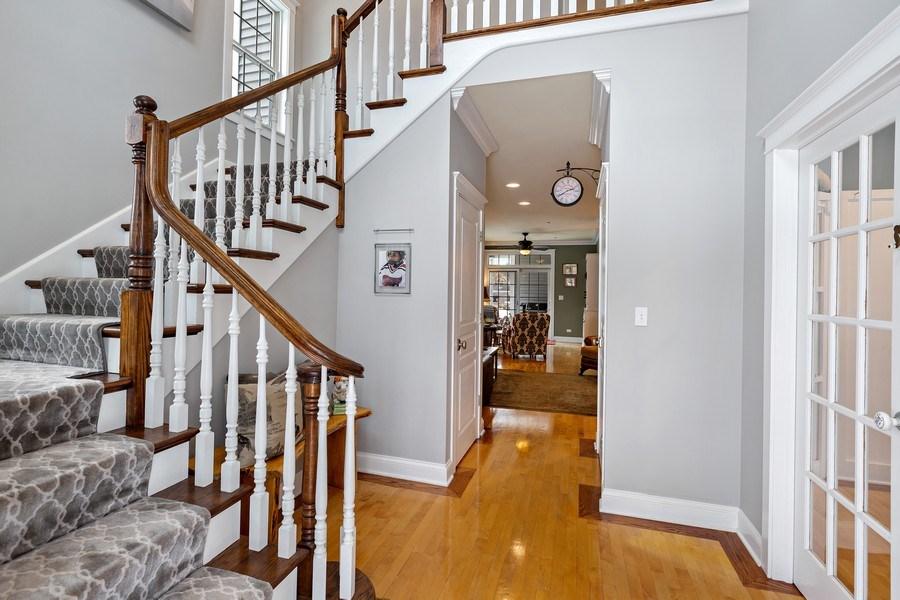 Real Estate Photography - 735 S. Grove Avenue, Barrington, IL, 60010 - Staircase