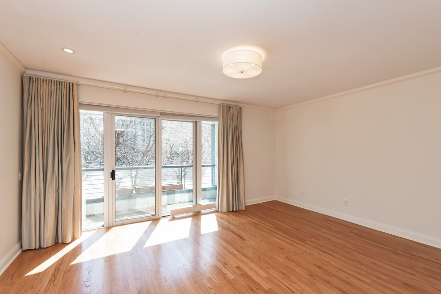 Real Estate Photography - 270 E. Pearson Street, Unit 203, Chicago, IL, 60611 - Master Bedroom