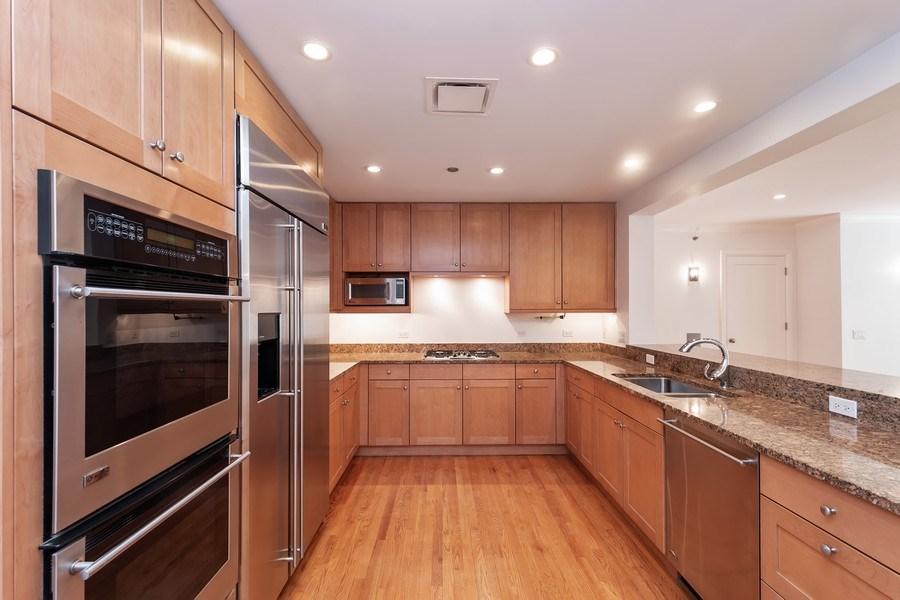 Real Estate Photography - 270 E. Pearson Street, Unit 203, Chicago, IL, 60611 - Kitchen