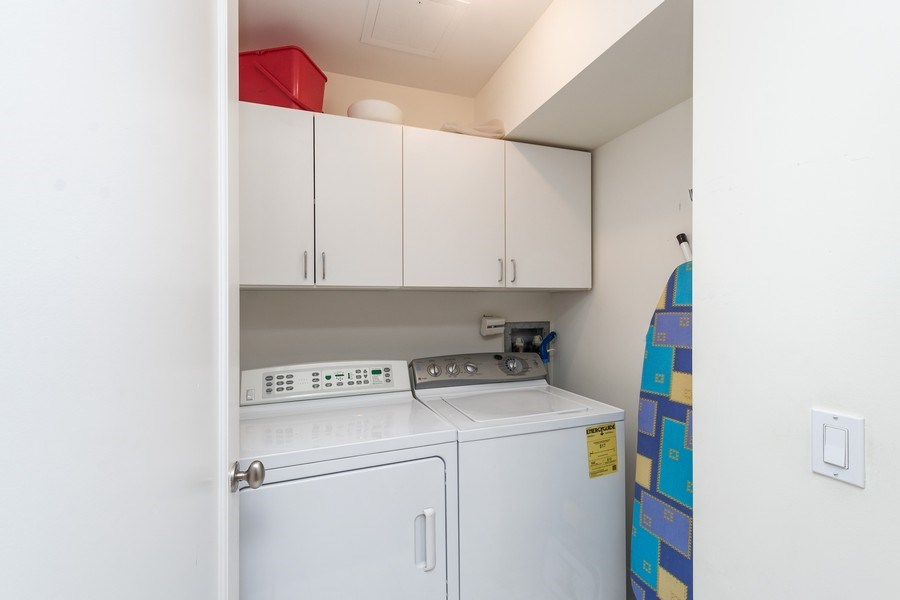 Real Estate Photography - 270 E. Pearson Street, Unit 203, Chicago, IL, 60611 - Laundry Room