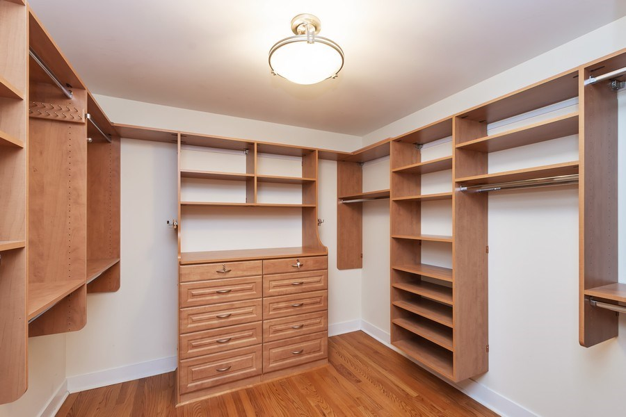 Real Estate Photography - 270 E. Pearson Street, Unit 203, Chicago, IL, 60611 - Master Bedroom Closet