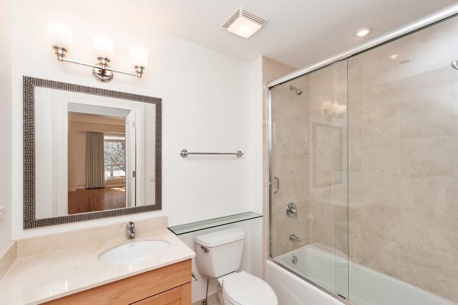 Real Estate Photography - 270 E. Pearson Street, Unit 203, Chicago, IL, 60611 - Bathroom