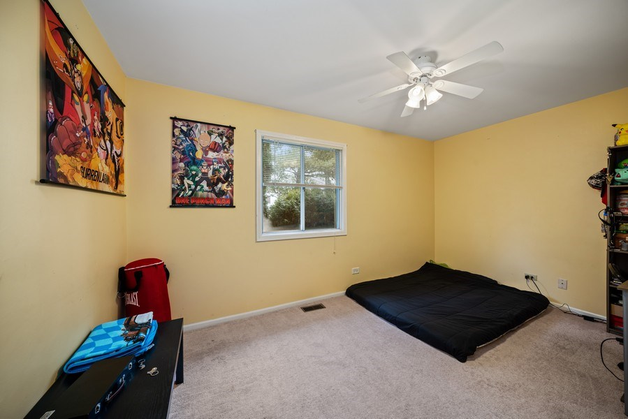 Real Estate Photography - 1115 Long Grove Drive, Aurora, IL, 60504 - Bedroom Three