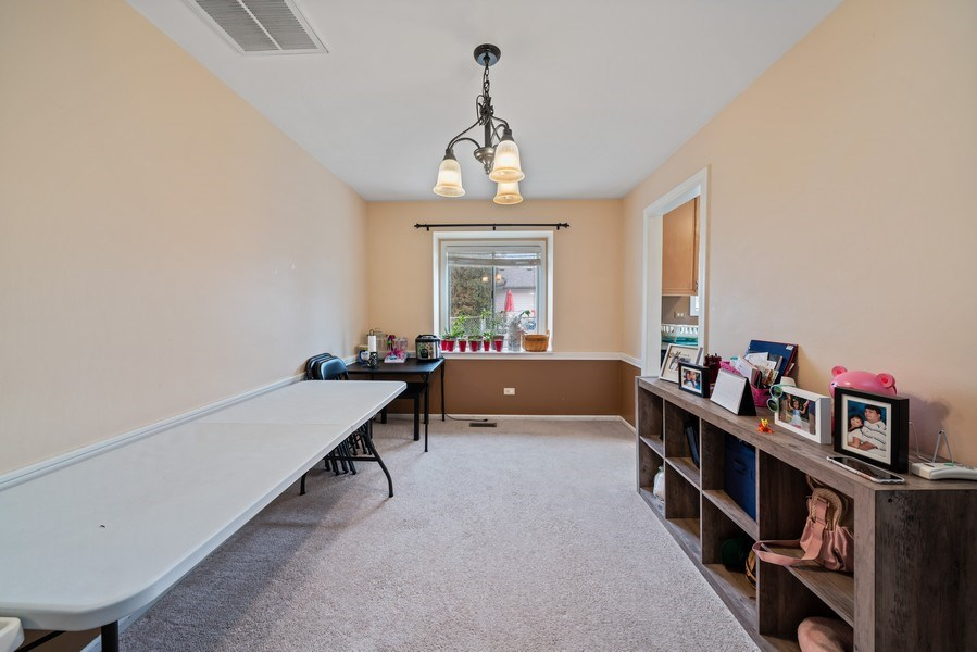 Real Estate Photography - 1115 Long Grove Drive, Aurora, IL, 60504 - Dining Room
