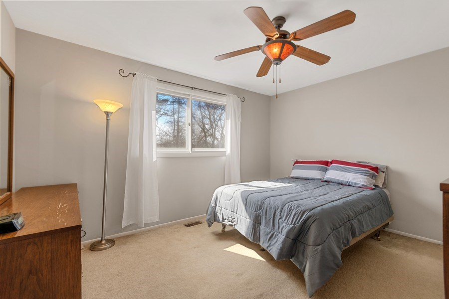 Real Estate Photography - 1178 Windsor Drive, Wheaton, IL, 60189 - Master Bedroom