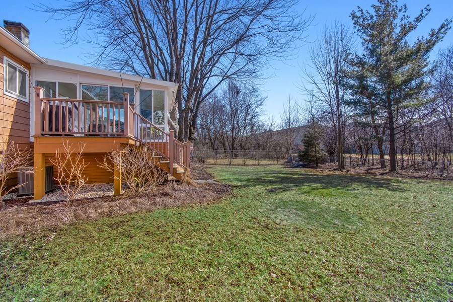 Real Estate Photography - 1178 Windsor Drive, Wheaton, IL, 60189 - Back Yard