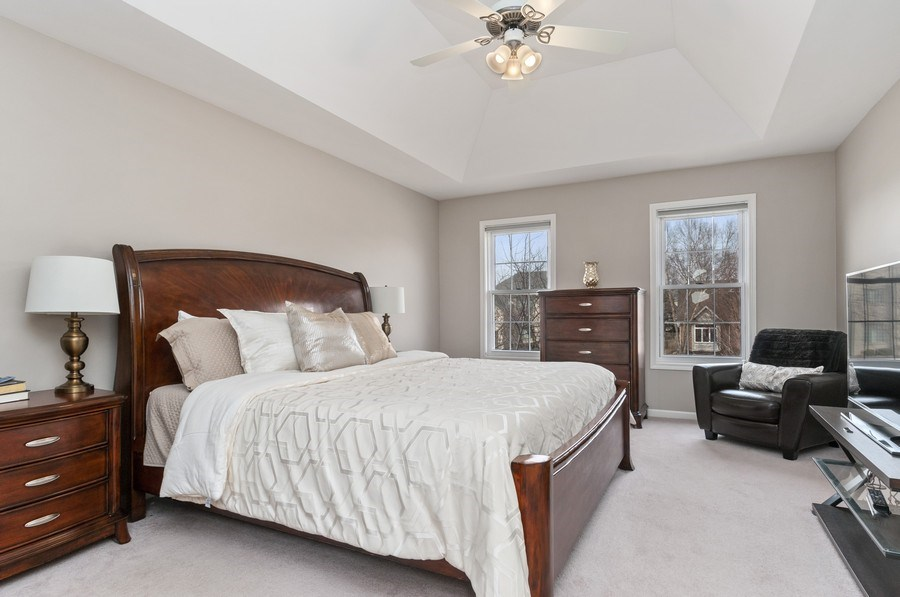 Real Estate Photography - 2608 FREELAND Circle, Naperville, IL, 60564 - Master Bedroom
