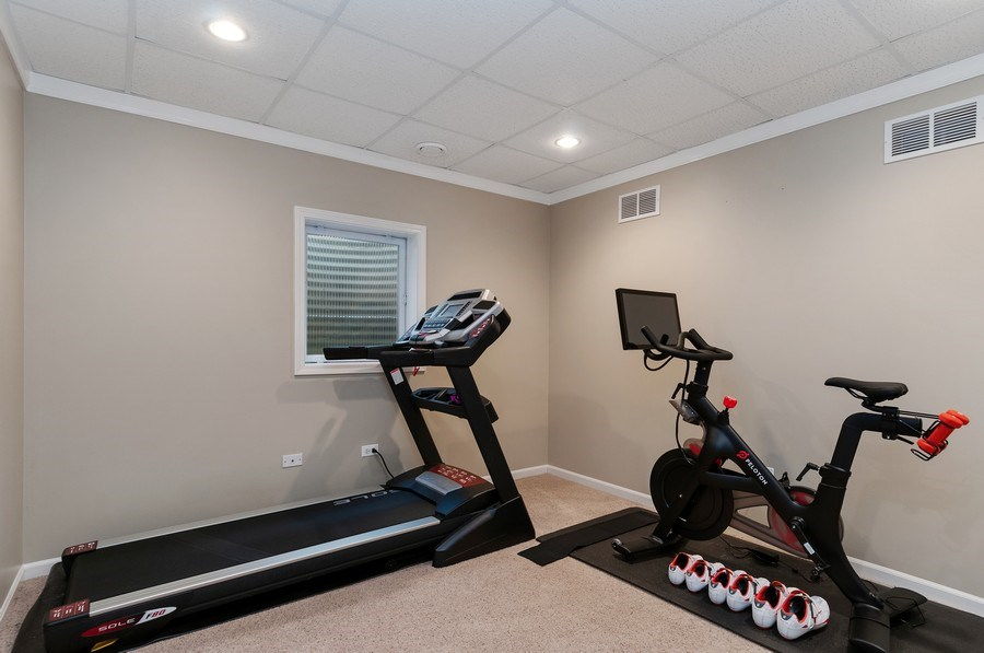 Real Estate Photography - 2608 FREELAND Circle, Naperville, IL, 60564 - Gym