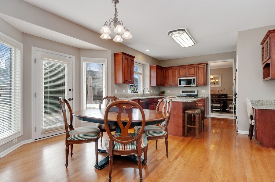 Real Estate Photography - 2608 FREELAND Circle, Naperville, IL, 60564 - Kitchen / Breakfast Room