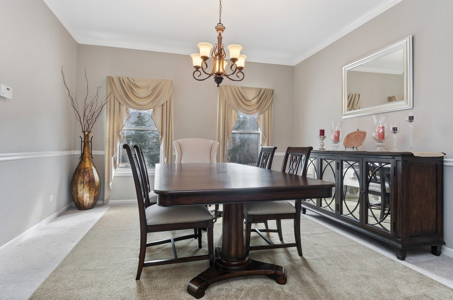 Real Estate Photography - 2608 FREELAND Circle, Naperville, IL, 60564 - Dining Room