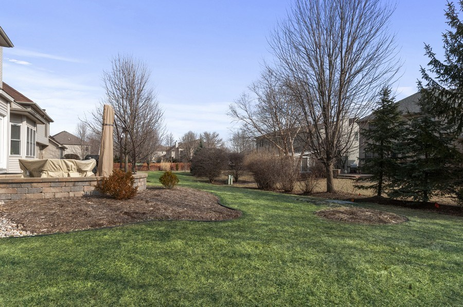 Real Estate Photography - 2608 FREELAND Circle, Naperville, IL, 60564 - Back Yard