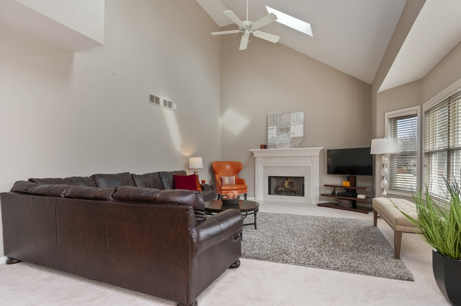 Real Estate Photography - 2608 FREELAND Circle, Naperville, IL, 60564 - Family Room