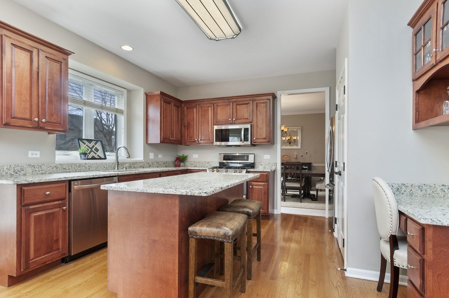 Real Estate Photography - 2608 FREELAND Circle, Naperville, IL, 60564 - Kitchen