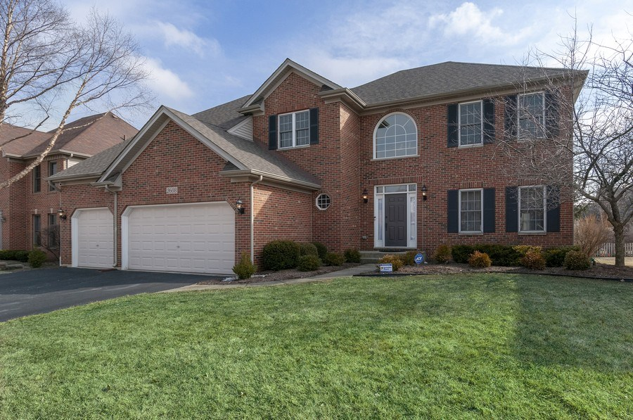 Real Estate Photography - 2608 FREELAND Circle, Naperville, IL, 60564 - Front View