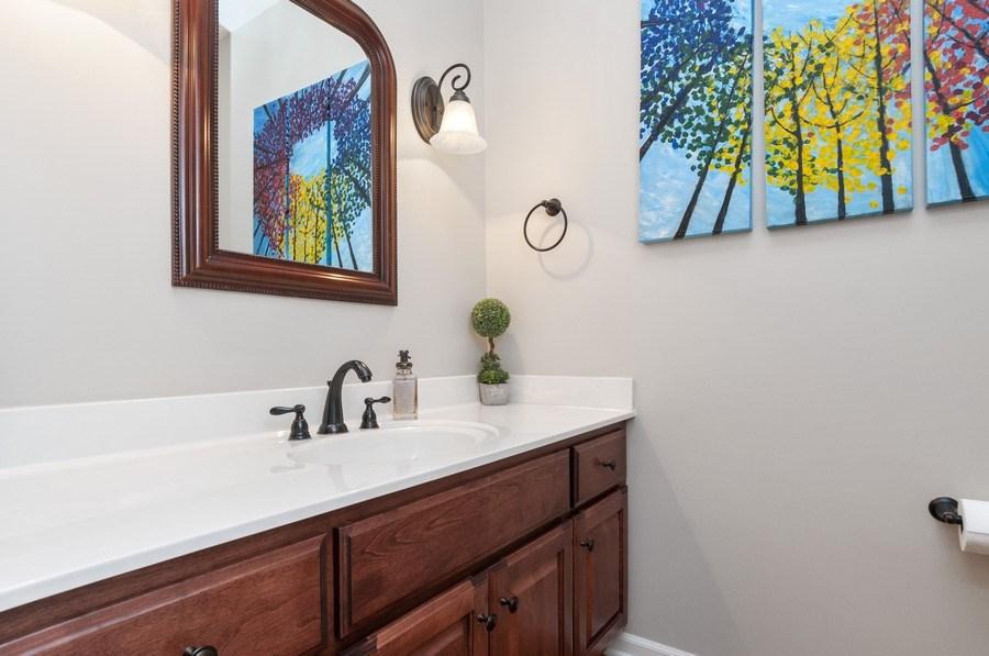 Real Estate Photography - 2608 FREELAND Circle, Naperville, IL, 60564 - Half Bath