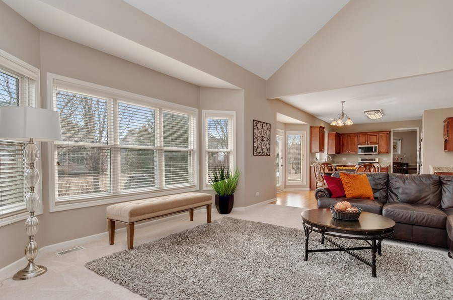 Real Estate Photography - 2608 FREELAND Circle, Naperville, IL, 60564 - Family Room / Kitchen
