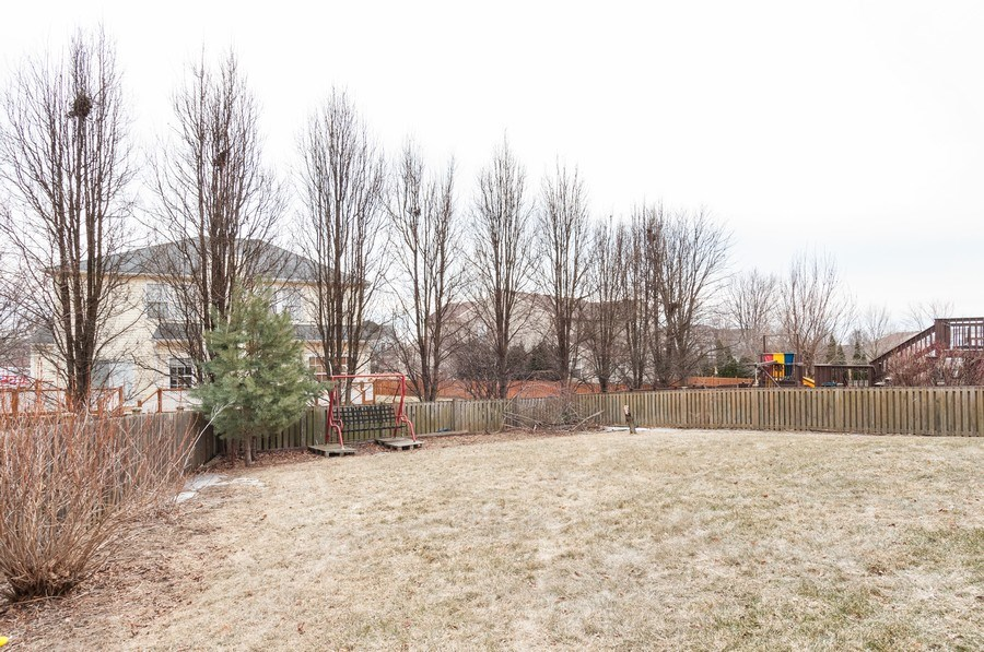 Real Estate Photography - 3205 Kenilworth Lane, Montgomery, IL, 60538 - Back Yard