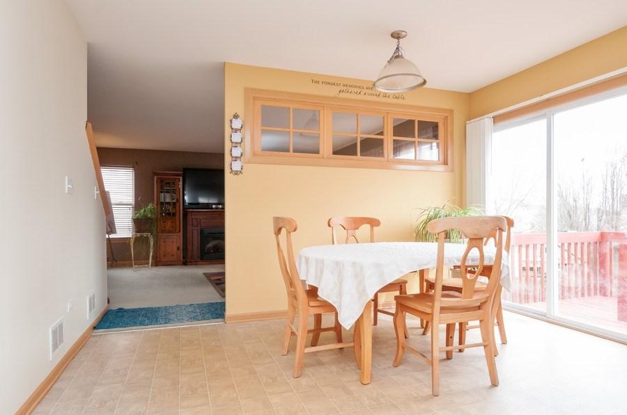Real Estate Photography - 3205 Kenilworth Lane, Montgomery, IL, 60538 - Breakfast Area
