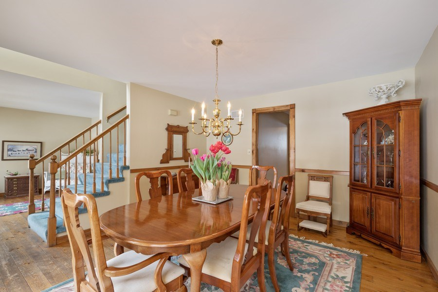 Real Estate Photography - 313 MAINSAIL Drive, Third Lake, IL, 60030 - Dining Room