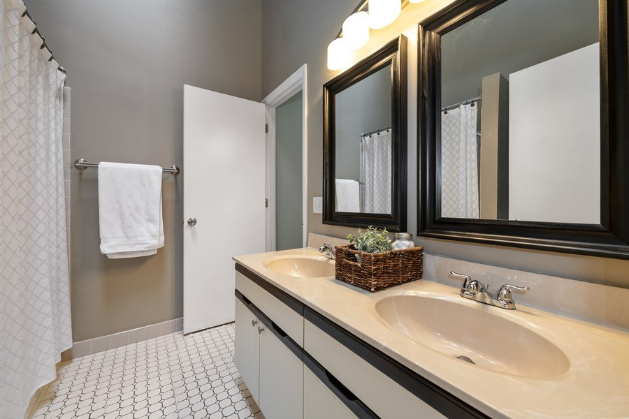 Real Estate Photography - 1424 Queensgreen Circle, Naperville, IL, 60563 - Master Bathroom