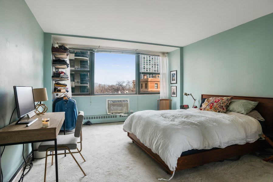 Real Estate Photography - 1445 N. STATE Parkway, Unit 603, Chicago, IL, 60610 - Bedroom